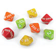 EAI® Education Place Value Dice - Ones to Thousands: Set of 8
