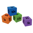 QuietShape® Money Dice - Set of 12