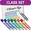 EAI® Education Dry-Erase Markers: Chisel Tip - Assorted Colors - 48 Pack