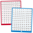 Double-Sided Dry-Erase Number Boards: 1-120 and 120-1 - Set of 10