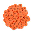 QuietShape® Foam Place Value Disks: Hundreds - Set of 120