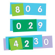 EAI® Education Place Value Strips - Thousandths to Ones: 10 Student Sets