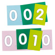 EAI® Education Place Value Strips - Thousandths to Ones: Demonstration Set