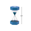 Large Sand Timer - 1 Minute: Blue