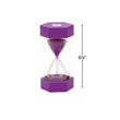 Large Sand Timer - 5 Minute: Purple