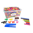 Fraction Tiles without Tray: Equivalency Classroom Set
