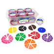 Deluxe Fraction Circles: Numbered - 15 Sets of 51 in Tub