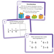 Fraction Warm-Ups: Problem Solving Task Cards - Grade 5