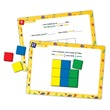 Color Tile Fraction Puzzles: Grade 2