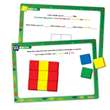 Color Tile Fraction Puzzles: Grade 3