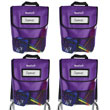 NeatSeat® Classroom Chair Organizer: Set of 4 - Purple