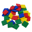 QuietShape® Foam Color Tiles - Set of 40