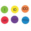 QuietShape® Foam Place Value Disks - Set of 101