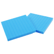 Base Ten Flats: Blue Plastic - Set of 2