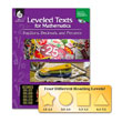 Leveled Texts for Mathematics: Fractions, Decimals, and Percents w/CD