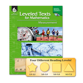 Leveled Texts for Mathematics: Measurement w/CD