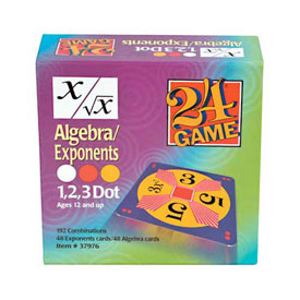 24® Game: Algebra/Exponents