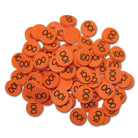 Place Value Disks (1-3): Hundreds