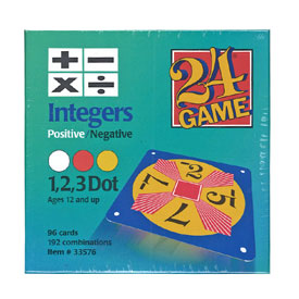 24® Game: Integers