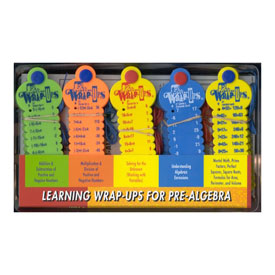 Learning Wrap-Ups® Pre-Algebra Intro Kit