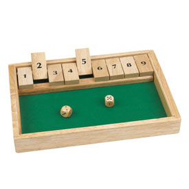 Shut The Box (1-9) Game