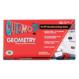 Geometry Quizmo®: Shapes, Symbols and Terms