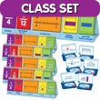 Visual Fraction Model Flip Chart Classroom Set