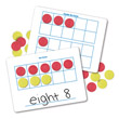 Magnetic Ten Frame Dry-Erase Boards - Set of 10
