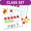 Magnetic Ten Frame Dry-Erase Boards Classroom Set