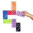 Jumbo QuietShape® Foam Dominoes - Set of 28