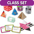 GeoModel® Everyday Folding Shapes Class Set