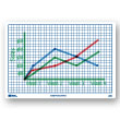 "Centimeter Grid Dry-Erase Boards: 11""x16"" Double-Sided Set of 10"