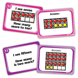 See & Solve Ten Frame Centers