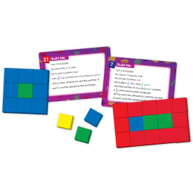 Color Tile Fraction Puzzles: Area and Perimeter Gr. 4+