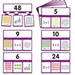 Snap Math - Multiplication & Division Puzzle: Grades 3-4