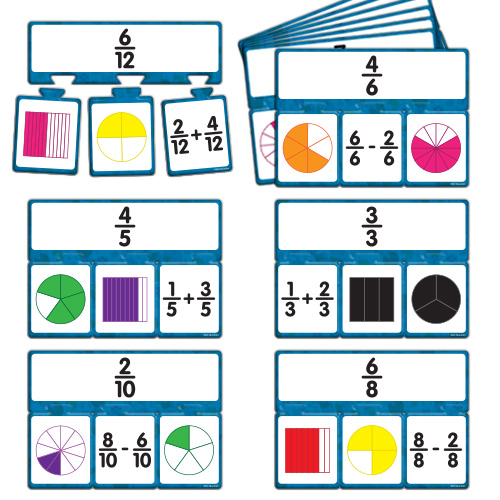 Snap Math - Fractions Puzzle: Grade 4 - Web Exclusives | EAI Education