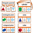 Snap Math - 3D Shapes Puzzle: Grades 3-4