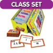 Math Stacks Classroom Game, Set of 6: Grades 6-8