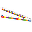 "Color Block Ruler - 12""/30cm - Set of 10"
