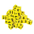 "QuietShape® Number Dice: 3/4"" - Set of 36"