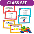 Build & Solve Pattern Blocks Activity Center Classroom Set