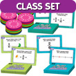 Build & Solve Fraction Circles Activity Center Classroom Set