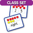 Magnetic Ten Frame & Part-Part-Whole Dry-Erase Board Classroom Set