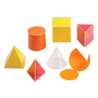 GeoModel® Folding Safety Shapes: 8cm - Set of 6