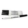 Expo® Low-Odor Dry-Erase Markers: Fine-Tip Black - Set of 10