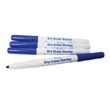 Expo® Low-Odor Dry-Erase Markers: Fine-Tip Blue - Set of 10