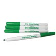 Expo® Low-Odor Dry-Erase Markers: Fine-Tip Green - Set of 10