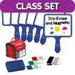 Magnetic Blank Paddles - Classroom Kit