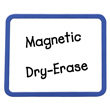 Magnetic Blank Dry-Erase Boards - Set of 10
