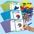 Pattern Block Shape Values Activity Bundle